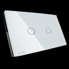 สวิตซ์ไฟฟ้า Dimmer ใช้งานผ่าน รีโมท ขนาด 2x4